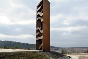 Einen Sonderpreis beim Deutschen Stahlbaupreis erhielt die Landmarke im Lausitzer Seenland von Stefan Giers und Susanne Gabriel<br /><br />