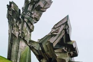 Denkmal für den Holocaust, Litauen, Kaunas 1983<br />