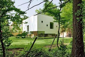 Teilnehmer 2009: Einfamilienhaus, Hamburg. Planer: Kraus Schoenberg Architekten, Konstanz London