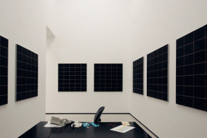 Lichtempfindliche Kunst. Kabinette, noch einmal unterteilt<br />