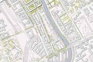Lageplan Stadthafenquartier Süd<br />