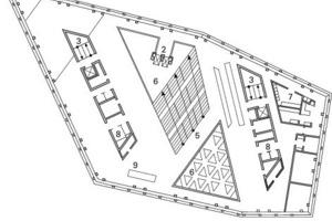 Grundriss Ebene 01, M 1:750<br />