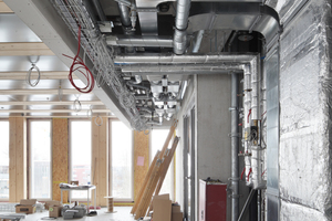 Die Modulbauweise erforderte auch bei der Planung der technischen Anlagen intensive Absprachen zwischen den HLS-Planern und den Architekten