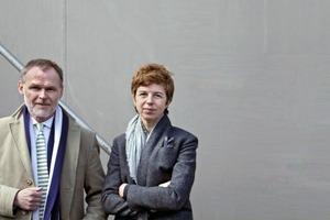 Paul Kahlfeldt und Claudia Kromrei