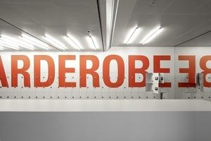 Damit man alles schnell findet ... Typografie von Double Standards, Berlin