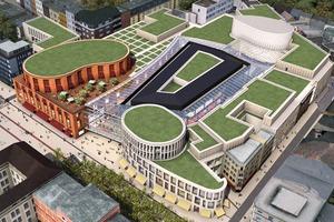 Zweiter Platz: Einkaufszentrum Forum Duisburg<br />