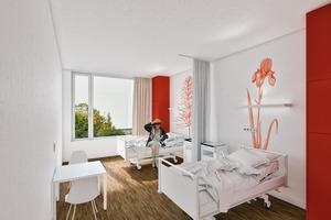 Visualisierung Patientenzimmer