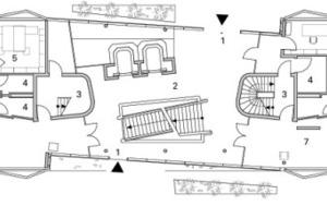 Erdgeschoss, M 1:333 <sup>1</sup>/3<br /><br />