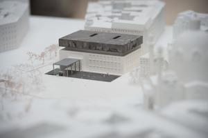 Modellfoto der Erweiterung