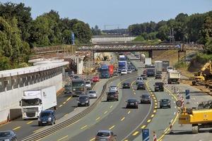 Der Bau erfolgte unter laufendem Verkehr