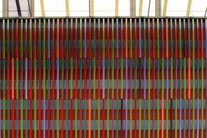 Farbstrichcode am Museum Brandhorst, München<br />