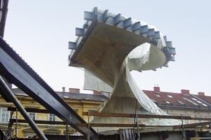 Eine konventionelle Stahlbetonkonstruktion mit Sichtbetonoberflächen wäre schwerer und weniger leistungsfähig gewesen