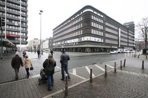 Architektur der Sachlichkeit (Architekt des Originals: Alfred Fischer, Essen, 1924-27, Architekten des Neubaus: gmp Architekten, Hamburg, 2013)