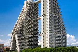 Finalist: Sky Habitat, Singapur  Architekten: Safdie Architects, Somerville\USA
