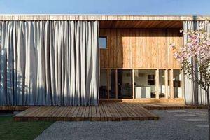 Teilnehmer 2009: Einfamilienhaus und Gästehaus in Grosselfingen. Planer: Markus Fischer, Berlin