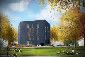 Aktivplus Gebäude in Planung, Riedberg, HHS Planer + Architekten AG