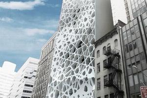 Zeitgenössisches, muslimisches Dekor: das geplante Kulturzentrum ganz nahe am Ground Zero<br />