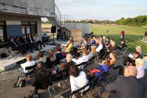 Auf dem ehemaligen Flughafen Tempelhof finden die Lesungen statt