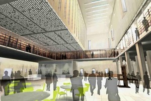 Perspektive der New Bodleian Library<br />
