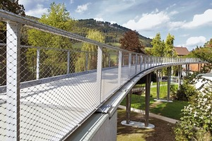 Textilbetonbrücke in Albstadt-Lautlingen