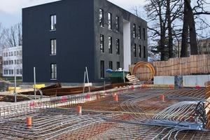 Das green:house ist eines von 13 Solitärgebäuden im Zuge der Campuserweiterung<br />