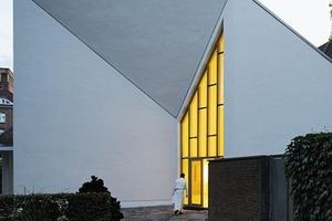 Kapellenfassade im Osten<br />