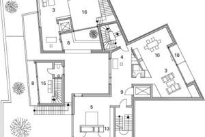 Grundriss 2.Obergeschoss, M1 : 3331/3