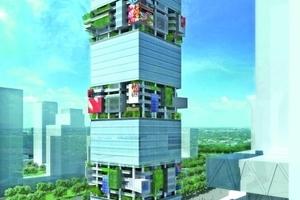 SBF TowerBürohochhaus, Shenzhen, China, 2009–2014  Auftraggeber: Southern Asset Management Co. Ltd. / Bosera Asset Management Co. Ltd., Shenzhen, China