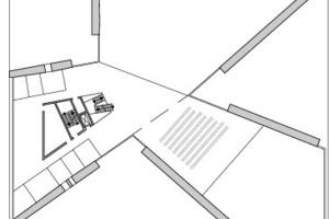 """<div class=""""10.6 Bildunterschrift"""">1. Obergeschoss, M 1:1000</div>"""