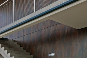Die m.look-Fassadenplatten von FunderMax geben der Mittelschule in Salzburg-Liefering ein modernes Aussehen verbunden mit Langlebigkeit und konsequentem Brandschutz