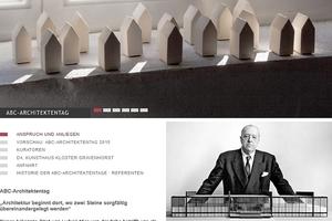 Website ABC Architektentag