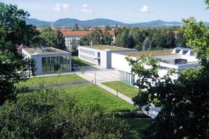 Blick auf den neuen Hochschulcampus in Zittau <br />