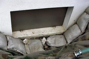 Bild7: Aufgesetzter Verschluss des Hochwasserschutzsystems