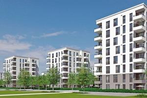 Abb. 1: Candis Punkto, Regensburg, Bauherr: Lambert Wohnbau GmbH; Architektur: a3 Architekten. Schalldämmende Maßnahmen sind entscheidend für den Wohnkomfort. Planung, Bauweise sowie Ausführung im mehrgeschossigen Wohnungsbau müssen dem geforderten Schallschutz entsprechen und nachprüfbar sein