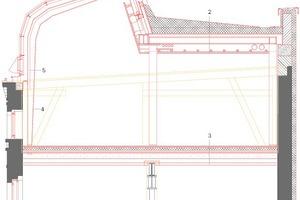 Dachdetail Fabrik, M 1:75
