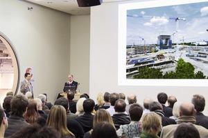 Gesprächsbedarf: Mehr als 250 Architekten kamen zum Nachhaltigkeitsgipfel im Rahmen der Deubau<br />
