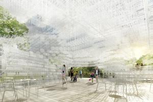 Serpentine Gallery Pavilion 2013, Architekt: Sou Fujimoto
