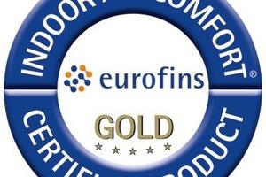 Eurofins Indoor Air Comfort Gold Indoor Air Comfort Gold(IACG) wird an besonders emissionsarme Produkte vergeben und kennzeichnet die Einhaltung aller gesetzlichen und freiwilligen Gütezeichen für die Emission von Produkten. Eurofins A/S ist ein internationaler, privater Prüfkonzern und nach eigenen Angaben führend in der Produktprüfung u.a. auf VOC. Die Liste der Label, derenPrüfbestimmungen mit denen des IACG übereinstimmen ist öffentlich, eine genaue Auflistung der jeweiligen Prüfparameter muss angefordert werden. www.eurofins.com<br /><br />