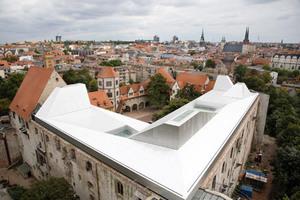 Das neue Dach der Moritzburg