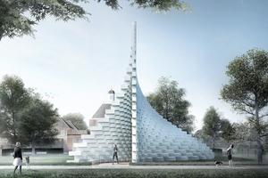 Serpentine Pavilion 2016 von Bjarke Ingels Group (BIG): so könnte er aussehen