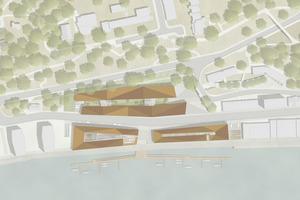 Planungsansicht - Gerber Architekten (Dortmund) mit der Levin Monsigny Landschafts-architekten GmbH (Berlin)