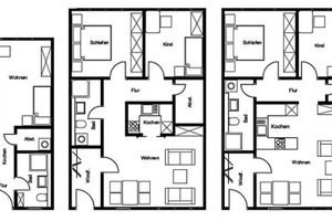 Wohnungsbau im Modul: Typ Laubengang