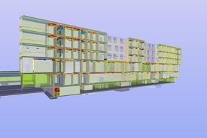 Schnitt IFC-Modell