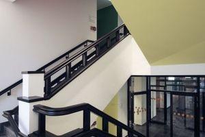 Farben zur Orientierung, Aufnahme historischer Bauteilformen