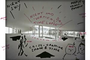 IF BUILDINGS COULD TALK… ist eine filmische Auseinandersetzung mit dem Rolex Learning Center in Lausanne; Wenders meets SANAA