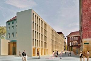 Philosophikum am Domplatz, Münster, Fertigstellung 2015, Peter Böhm