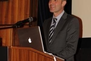 Philip Kurz, Geschäftsführer und Leiter des Denkmalprogramms der Wüstenrot Stiftung, freut sich als Veranstalter über den regen Zuspruch