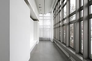 Zwischen Einbau und Bestand offenbaren sich neue Räume von überdurchschnittlicher Qualität. Die herzustellen ist die hauptsächliche Leistung von Kuehn Malvezzi
