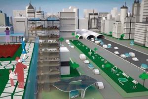 So könnte die Stadt der Zukunft aussehen