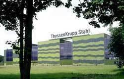 Thyssen-Solarfassade in Duisburg, Farbstudio Garnier